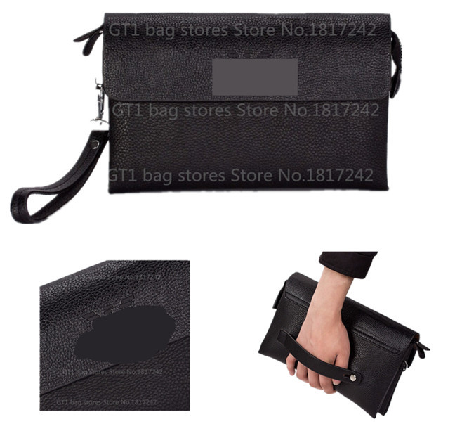 New 2015 Fashion Brand Men's Wallet Genuine Leather High Quality Zipper Business Purses Card Holder Male Clutch Bags 813-1#(China (Mainland))