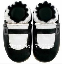 Free shipping 8pairs/lot Guaranteed 100% soft soled Genuine Leather baby shoes baby first walker dr0007-28(China (Mainland))