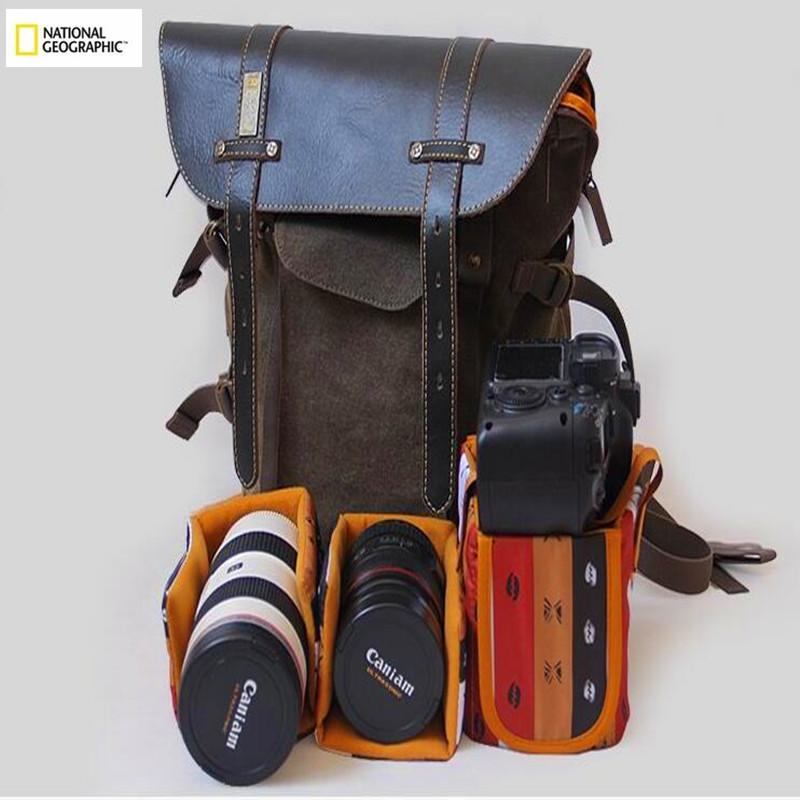 Digital Dslr Camera Bag Photo Backpack Strap National Geographic W5290 Mochilas Fotografica Waterproof Foto Sac Appareil Reflex(China (Mainland))