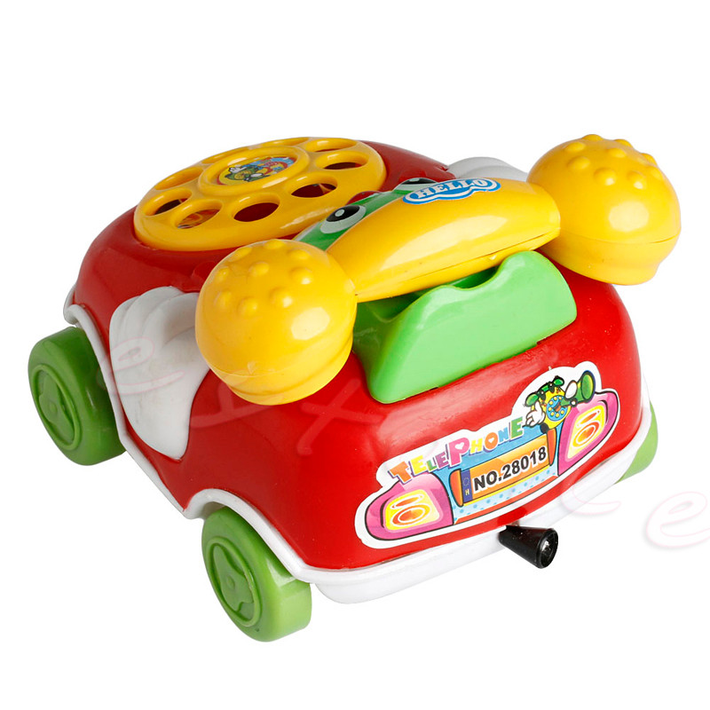 1pc 2016 Child Toys Music Cartoon Telephone Academic Developmental Youngsters Toy Reward New