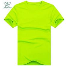 Coromose 2016 Mens Sport T-shirt O-neck tshirt homme t shirt men 6 colors plus size freeshipping