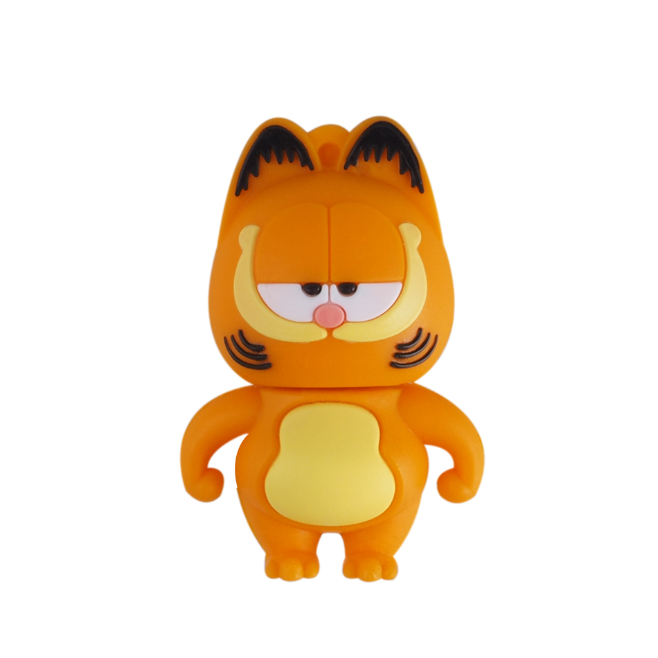 New Design Coffee Cat USB Flash Drives USB 2.0 Disk External Pen drive 64GB 32GB 16GB 8GB 4GB Pendrives Creative pendrive(China (Mainland))