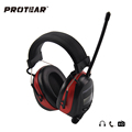 Protear NRR 25dB Electronic Ear Protection AM FM Radio Earmuffs Electronic Shooting Earmuffs Headset Radio Hearing