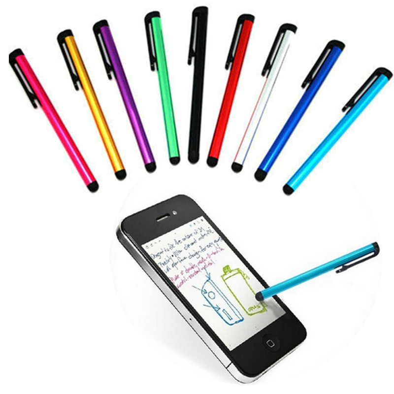 Touch Screen Stylus Pen Pro Fine Point Capacitive Pen Metal Tubes For iPhone Tablet PC Handwriting