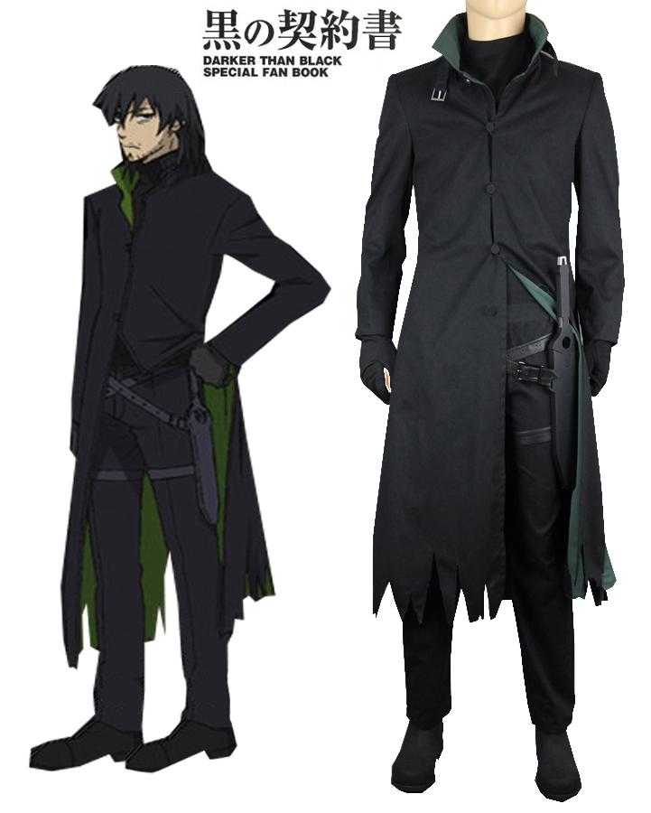 Darker than Black Hei Windbreaker Anime Cosplay Costume