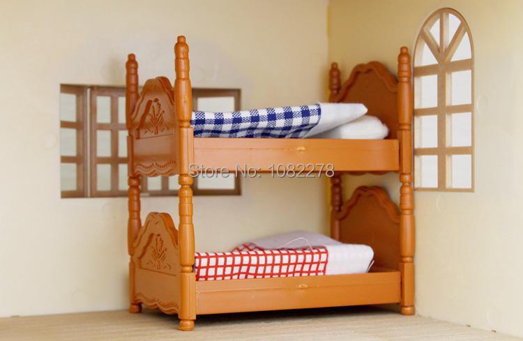 Barbie Slaapkamer Meubels : Sylvanian Families Generic Bunk Beds