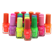 1pcs The series of 20 color 7ml Fluorescent Neon Luminous Nail Polish for Glow in Dark