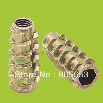 M8*35 zinc alloy nuts with zinc plated in fastener(NZ2911)