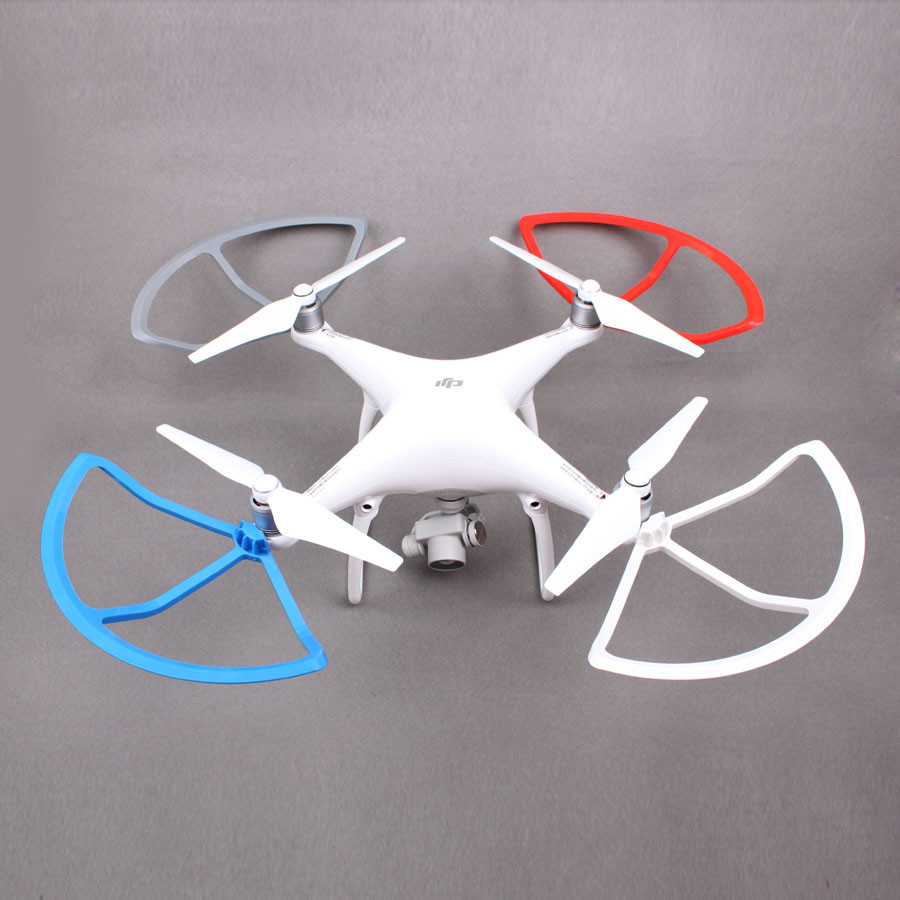 4 PCS/lot Plastic Quik Release Propeller Guard for DJI Phantom 4 RC Quadcopter Accessories Blade Protector obstacle avoidance