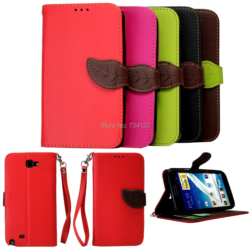 PU Leather Leaf Pattern Stand Wallet Flip Card Slot Hard Cover Case Samsung N9000 Galaxy Note 3 Phone,3 DHL - Digital Accessories Shopping Mall store
