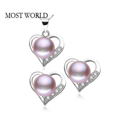 MOST WORLD 925 925 925 MWF8 most world 8 5 9 925 earringpearl