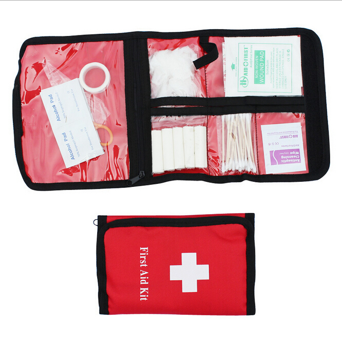 Free shipping Portable Military First Aid Bag Medical Bag Outdoor Camping Earthquake Car Survival Medicine Family First aid Kit(China (Mainland))
