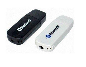 2012 promotie bluetooth stereo audio-ontvanger u schotel geluid draai bluetooth draadloze luidsprekers converter