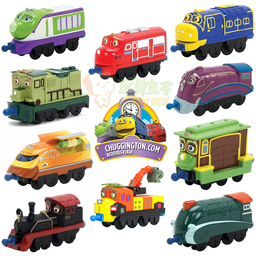 30Style Chuggington trains Meatal+Plastic 1:50 Mini Scale Models Railway Tractor toy cars baby toys toy model cars 1piece(China (Mainland))
