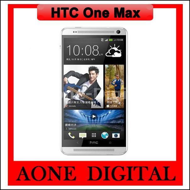 Original Refurbished Unlocked HTC One Max Quad Core 5.9 inch 4MP Android Smart Phones(China (Mainland))