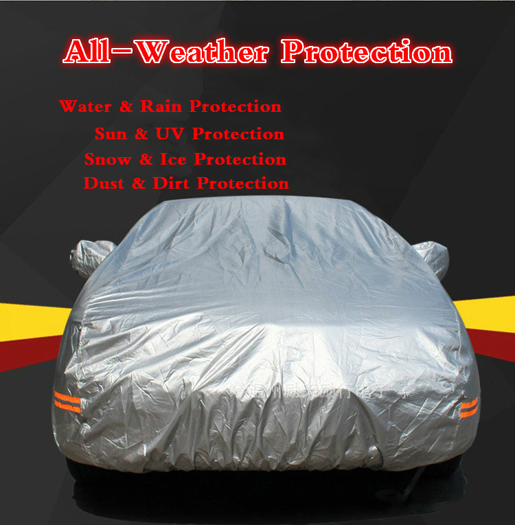 Indoor & Outdoor Car Covers Waterproof, Dustproof, Resist snow UV Protection Four Seasons Free Shipping(China (Mainland))