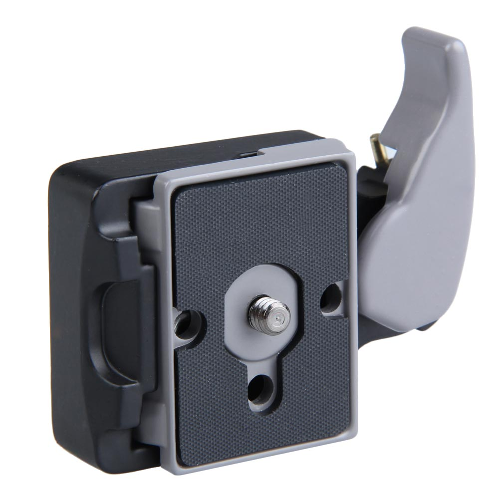 New Black Camera 323 Quick Release Adapter with Manfrotto 200PL-14 Compat Plate  TB Sale