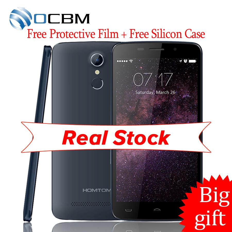 New Original HOMTOM HT17 MTK6737 5.5Inch 1GB RAM 8GB ROM OTG 8.0MP Camera 1280x720 Android 6.0 Dual SIM 4G LTE Mobile Phone(China (Mainland))
