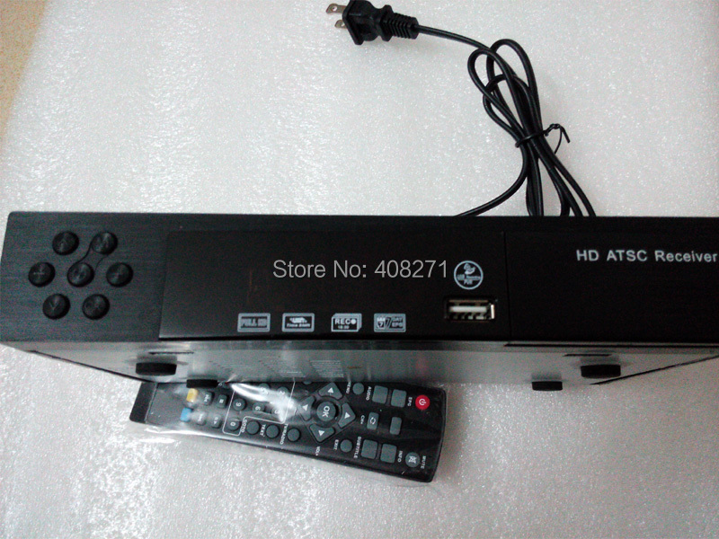 FTA ATSC-T TV BOX DIGITAL CONVERTOR HDTV RECEIVER SIGNAL ANTENNA HDMI USB PVR ATSC only suitalbe for Mexico America Canada(China (Mainland))