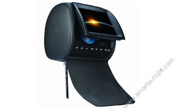Headrest Multimedia DVD Player w/ 9 inch HD Screen