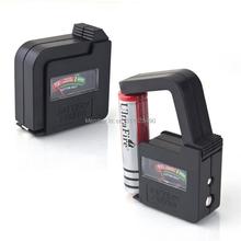1 pc/Lot envío libre y rápido! alta calidad de la batería de voltio del probador del inspector del indicador para AA AAA 9 v botón sFqB