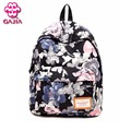 GAJIA Hot Selling School Bags For Teenagers Book Backpacks High Quality Canvas Waterproof Noctilucent Travel Women