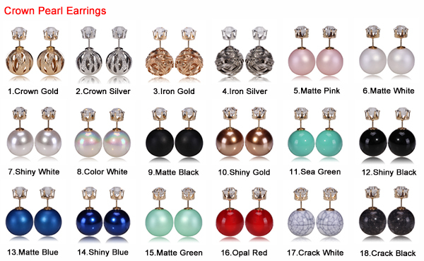 Crown earrings 1