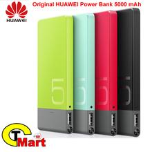 100% Original Huawei power bank 5V 2A 5000mAh Power Bank Portable High Quality Emergency Battery Backup Power Ultra thin Charger