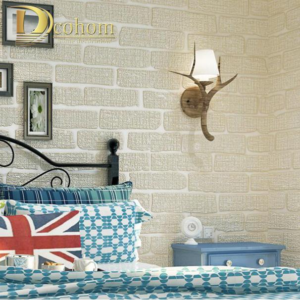 Slaapkamer Beige Grijs : Online kopen Wholesale bruin bakstenen muur uit China bruin bakstenen