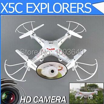 New Version Syma X5C 2.4G 6 Axis GYRO RC Quadcopter Drone With 2.0MP HD Camera RC Plane 4ch Airplane Syma X5C