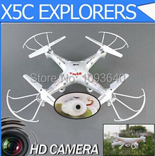 New Version Syma X5C 2.4G 6 Axis GYRO RC Quadcopter Drone With 2.0MP HD Camera RC Plane 4ch Airplane Syma X5C
