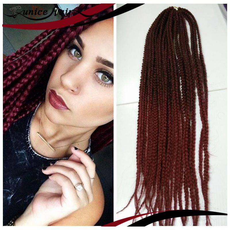 Crochet Braids European Hair : Crochet-Mambo-Braiding-Hair-Twist-3S-Box-Braid-twist-Synthetic-Crochet ...