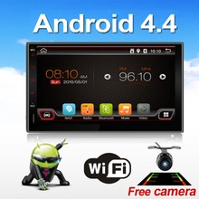 Universal 2 Din Android 4.4 Full Touch Car Pc Tablet Double Audio 7 Gps Navi Car Stereo Radio No Dvd Mp3 Player Bt Stereo 4(China (Mainland))