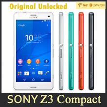 Смартфон Sony Xperia Z3 Compact 4 ядра 4.6» 20.7Мп 2Гб RAM 16Гб ROM GPS 4G
