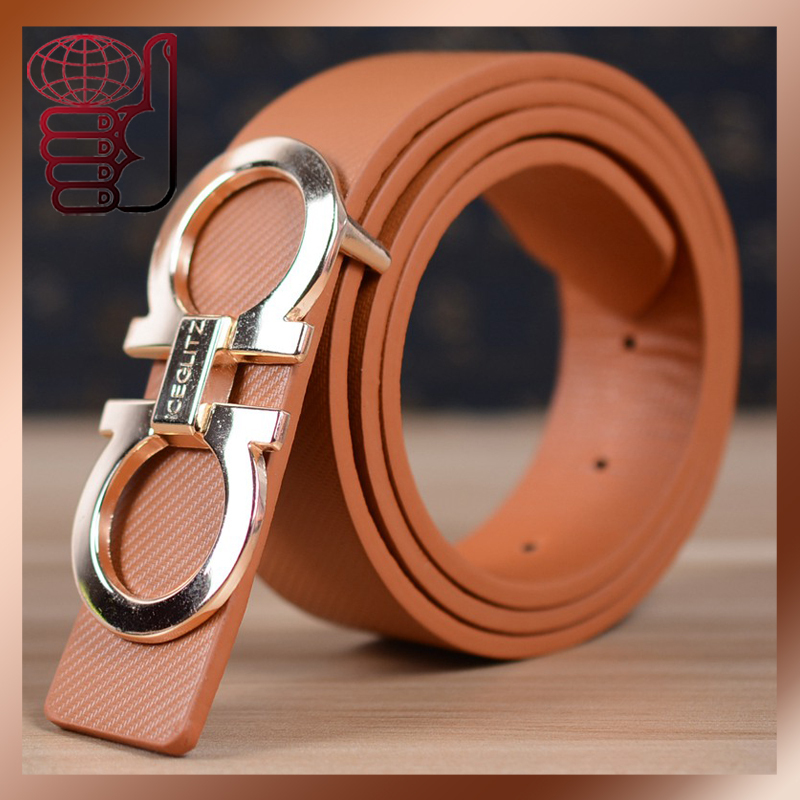 2015 New Designer Famous Brand Luxury Belts Women Men Belts Male Waist Strap Faux Cowskin Leather Alloy D Buckle Boy Belt(China (Mainland))