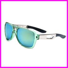 2015 Fashion Transparent Frame Sunglasses Men Brand Designer Sports Goggles Mirror Coating sun glasses For Men(China (Mainland))
