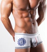 Best Selling Wholesale/Retail Mens Underwear Boxers Cotton Cueca Boxer Men Print Boxer Shorts Free shipping(N-084)(China (Mainland))