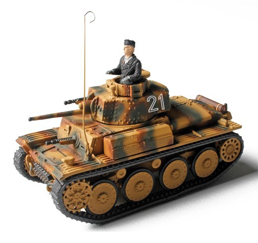 Фотография Free shipping FOV 1:72 85107 World War II German armored vehicles 38 tons tank PANZER Ukraine 1944 FM