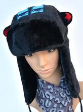Free shopping 2014 hot Seller Winter Bomber Hat Earmuffs lei feng Cap The eyes cartoon pattern