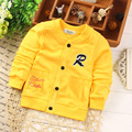 New arrival Baby Toddler Kids Boys Spring autumn Cotton Jacket Fashion Coats For 70 110cm Height