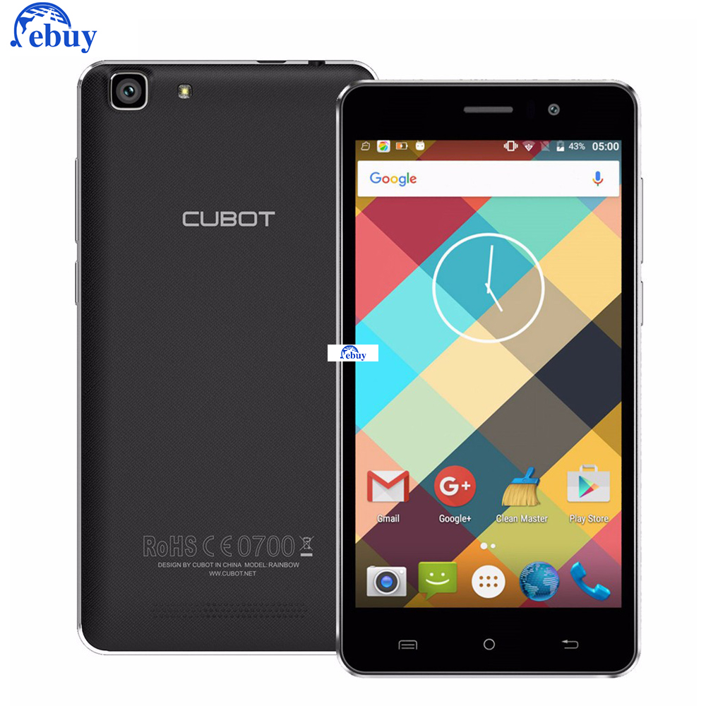 Phone Cheap Mobile Android Phones online get cheap cubot android phones aliexpress com alibaba group original rainbow smartphone 5 0 6 mtk6580 inch hd screen 1gb ram16gb rom