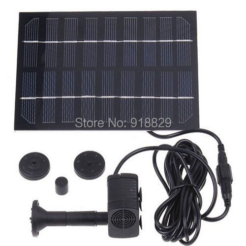 Solar Brushless Pump Water Pond Fountain/Rockery Fountai - KINGWAY STORE store