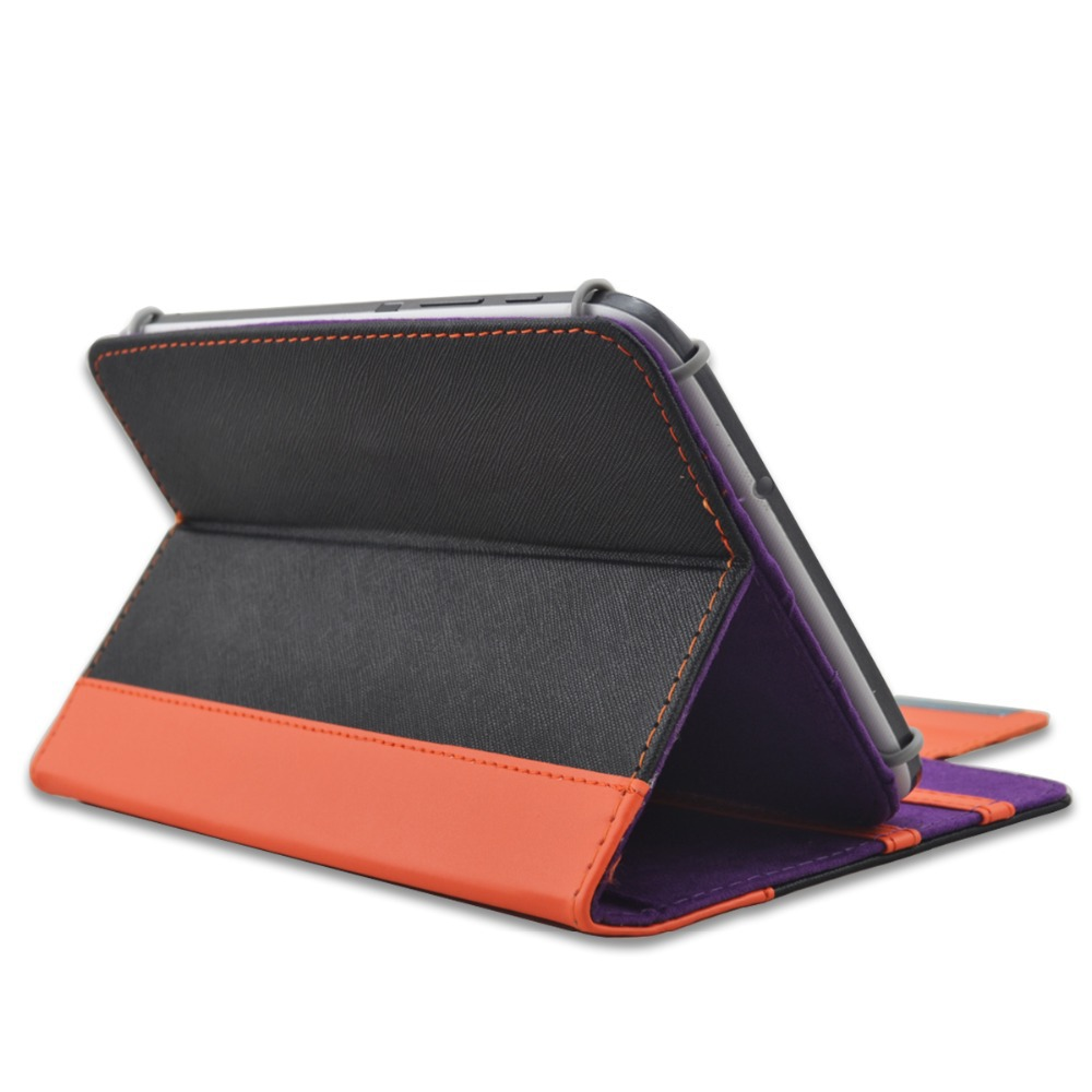 PU leather stand cover for all 7'' 7 inch tablet pc universal case 6 inch ereader for ipad mini for lenovo for dell for asus(China (Mainland))