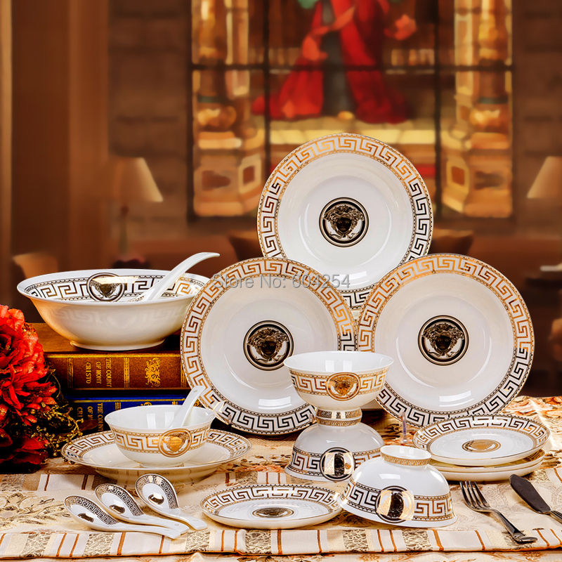 Amazing People Europe Highgrade Bone China Dinner Plate Set Square Salad  Bowl Set House Warming Gifts With Dinner Plate Sets Square