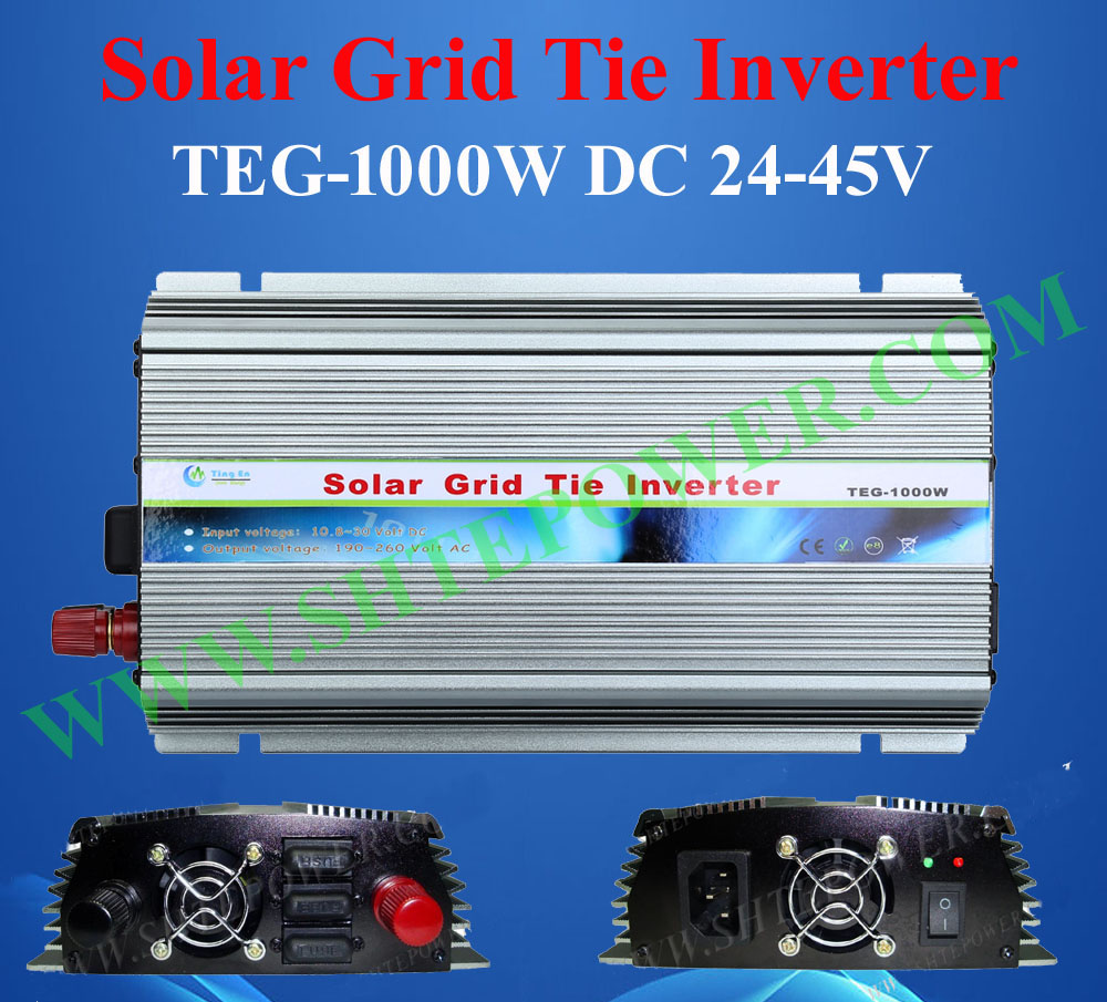 2016 best price solar grid tie inverter 1000w dc 24-45v to ac 230v country use(China (Mainland))