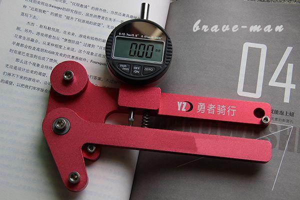 Bicycle Bike spoke steel wire spoke tension meter analog spoke tensionmeter truing meter similar to DT swiss Park tool(China (Mainland))