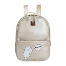 2015Preppy Style Character  Leather Backpack Women Korean School Printing Mochila Escolar Sac Animal Backpacks For Teenage Girls(China (Mainland))