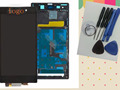new lcd display screen touch digitizer screen frame for sony l39h xperia z1 c6903 c6902 c6906