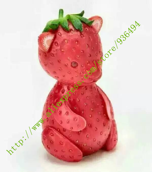 Fruit seeds, 1000PC delicious red Little bear strawberry seeds, rare plants, natural growth(China (Mainland))