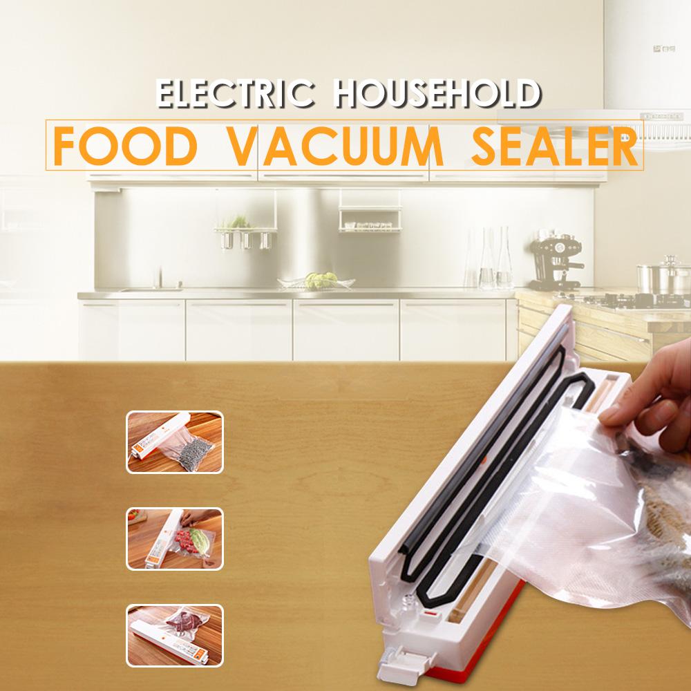XinBaoLong Vacuum Food Sealer Electric Food Packaging Machine 430 Mmhg Vacuum Degree 100 W 220 V/50 Hz Automatic Food Processor(China (Mainland))